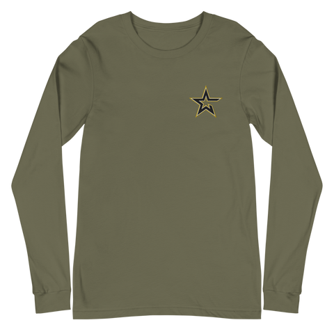 U.S. Army Esports | Street Gear | Embroidered Unisex Long Sleeve Tee