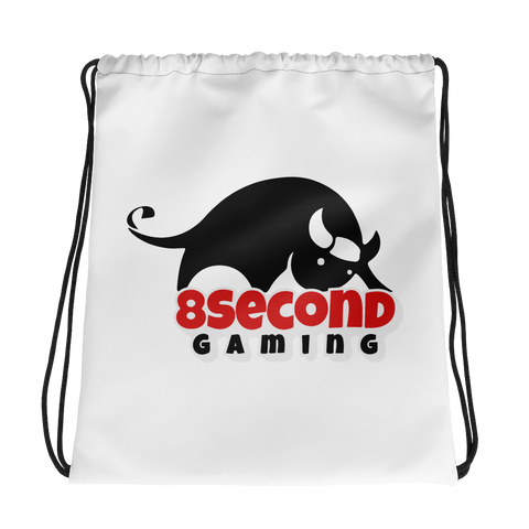 8Second Gaming | Street Gear | Sublimated Drawstring bag