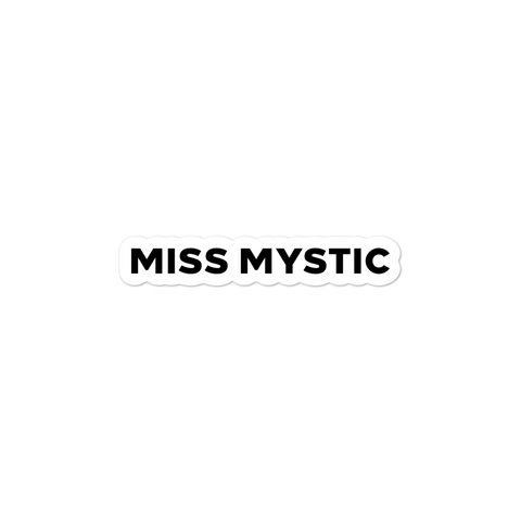 Miss Mystic | Street Gear | Sticker Alternate