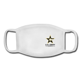 U.S. Army Esports | Street Gear | YOUTH Face Mask - white/white