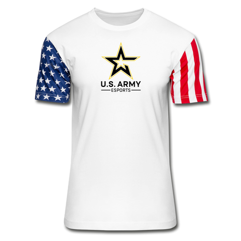 U.S. Army Esports | Street Gear | Stars & Stripes T-Shirt - white