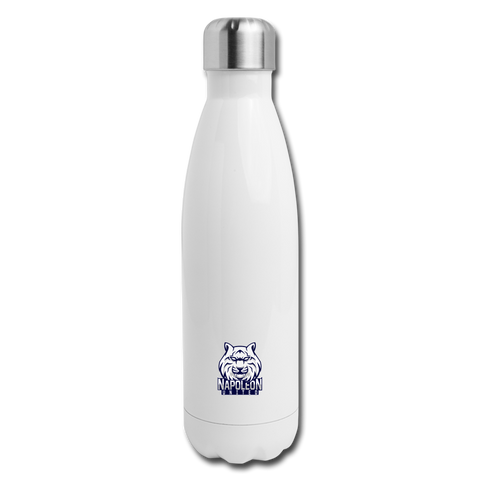 Napoleon United | Street Gear | Insulated Stainless Steel Water Bottle - white