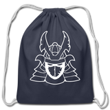 Lycus Empire | Street Gear | Cotton Drawstring Bag - navy