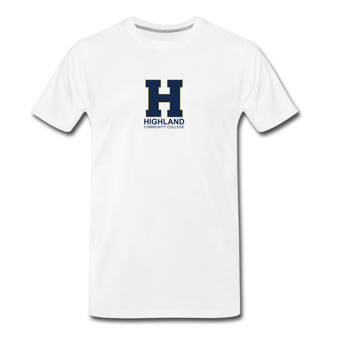 Highland Esports | Street Gear | DTG Men's Premium T-Shirt - white