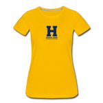 Highland Esports | Street Gear | DTG Women's Premium T-Shirt - sun yellow