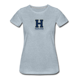 Highland Esports | Street Gear | DTG Women's Premium T-Shirt - heather ice blue
