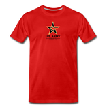 U.S. Army Esports | Street Gear | DTG Men's Premium T-Shirt - red