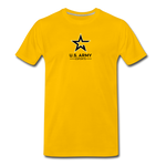 U.S. Army Esports | Street Gear | DTG Men's Premium T-Shirt - sun yellow