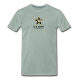U.S. Army Esports | Street Gear | DTG Men's Premium T-Shirt - steel green