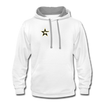 U.S. Army Esports | Street Gear | DTG Unisex Contrast Hoodie - white/gray