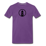 ESAP | Street Gear | DTG Men's Premium T-Shirt - purple