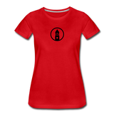 ESAP | Street Gear | DTG Women's Premium T-Shirt - red