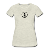ESAP | Street Gear | DTG Women's Premium T-Shirt - heather oatmeal