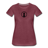 ESAP | Street Gear | DTG Women's Premium T-Shirt - heather burgundy