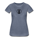 ESAP | Street Gear | DTG Women's Premium T-Shirt - heather blue