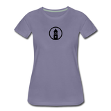 ESAP | Street Gear | DTG Women's Premium T-Shirt - washed violet