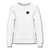 Red Ninja Gaming | Street Gear | DTG Women's Premium Sweatshirt - white