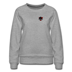 Red Ninja Gaming | Street Gear | DTG Women's Premium Sweatshirt - heather gray
