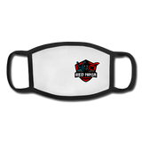 Red Ninja Gaming | Street Gear | Sublimated Youth Face Mask - white/black