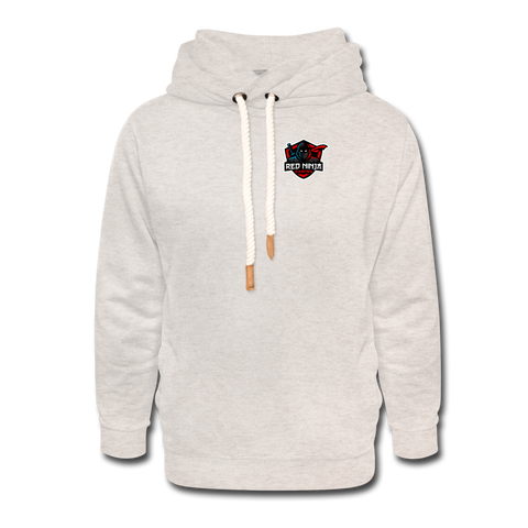 Red Ninja Gaming | Street Gear | DTG Shawl Collar Hoodie - heather oatmeal