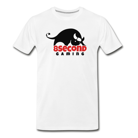 8Second Gaming | Street Gear | DTG Men's Premium T-Shirt - white