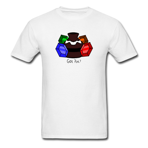 Zelda 'Got Pot?' | Gamer Gear | DTG Unisex Classic T-Shirt - white