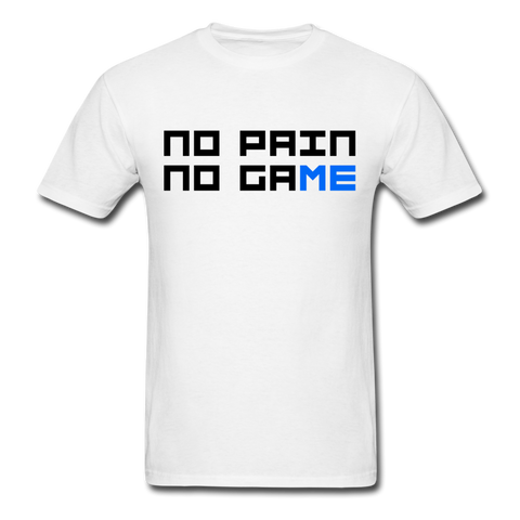 No Pain No Game | Gamer Gear | DTG Unisex Classic T-Shirt - white