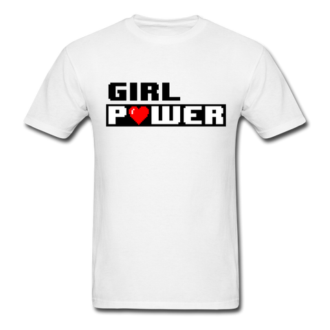 Girl Power | Gamer Gear | DTG Unisex Classic T-Shirt - white