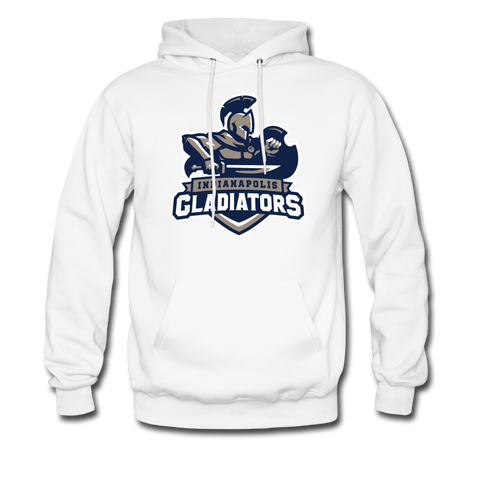 Indianapolis Gladiators | Street Gear | DTG Unisex Hoodie - white