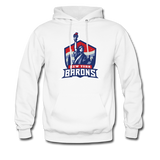 New York City Barons | Street Gear | DTG Unisex Hoodie - white