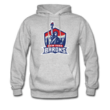 New York City Barons | Street Gear | DTG Unisex Hoodie - heather gray
