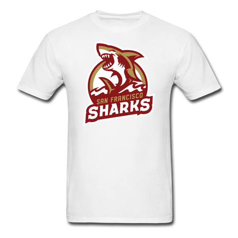 San Francisco Sharks | Street Gear | DTG Unisex Classic T-Shirt - white