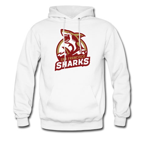 San Francisco Sharks | Street Gear | DTG Unisex Hoodie - white