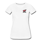 North Central College | Street Gear | DTG Women's Premium T-Shirt - white