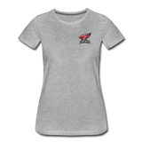 North Central College | Street Gear | DTG Women's Premium T-Shirt - heather gray