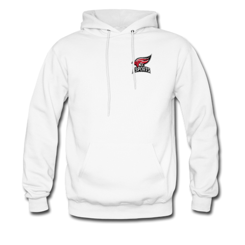 North Central College | Street Gear | DTG Unisex Hoodie - white