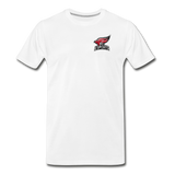 North Central College | Street Gear | DTG Men's Premium T-Shirt - white