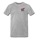North Central College | Street Gear | DTG Men's Premium T-Shirt - heather gray
