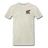 North Central College | Street Gear | DTG Men's Premium T-Shirt - heather oatmeal