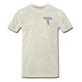 TempZ | Street Gear | DTG Men's Premium T-Shirt - heather oatmeal