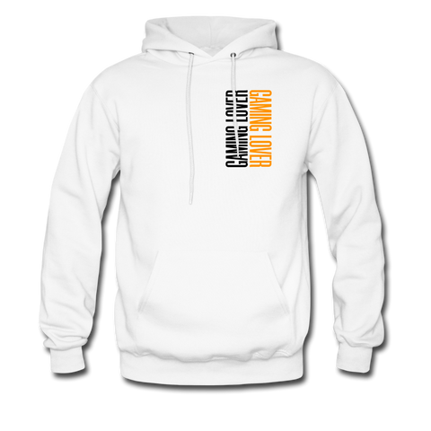 Gaming Lover | Gamer Gear | DTG Unisex Hoodie - white