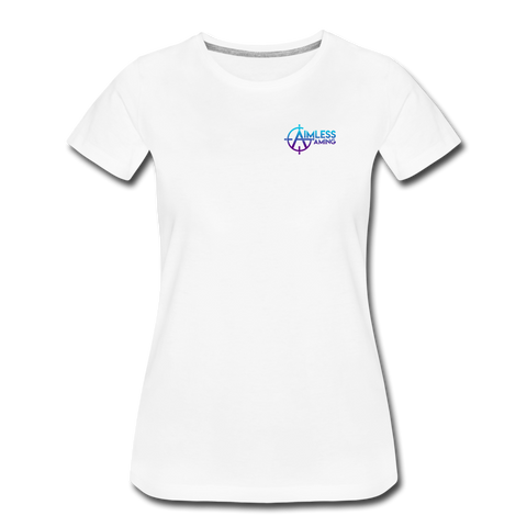 Aimless Gaming | Street Gear | DTG Women's Premium T-Shirt - white