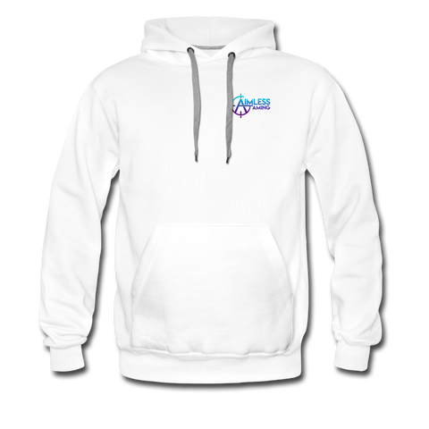 Aimless Gaming | Street Gear | DTG Men's Premium Hoodie - white