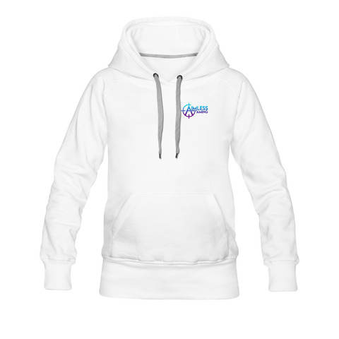 Aimless Gaming | Street Gear | DTG Women's Premium Hoodie - white