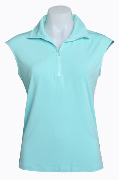 AQUA CAPPED POLO