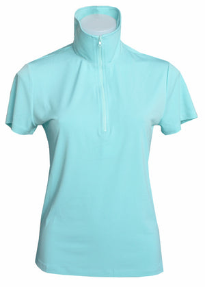 AQUA EXTENDED CAPPED POLO