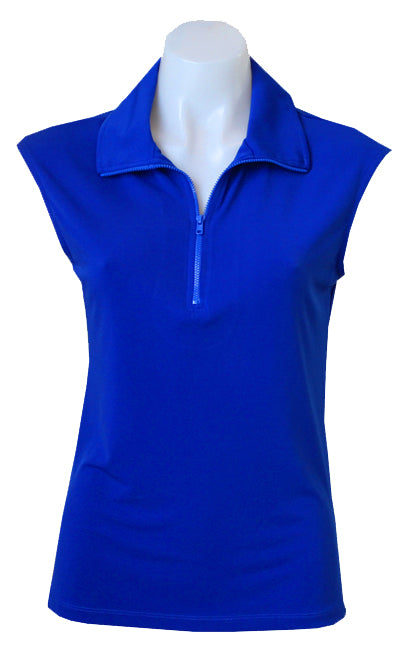 COBALT CAPPED POLO