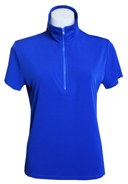 COBALT EXTENDED CAPPED POLO