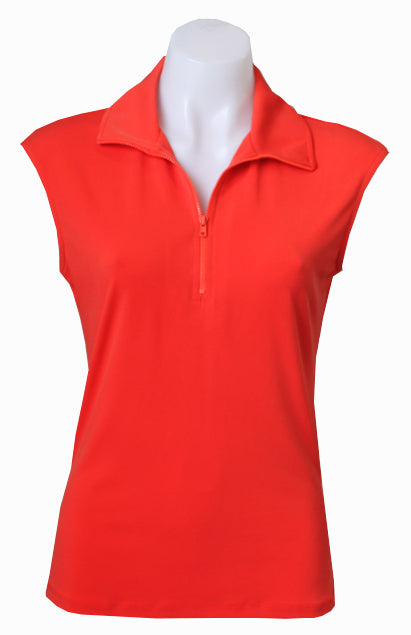 CORAL CAPPED POLO
