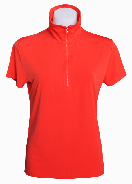 CORAL EXTENDED CAPPED POLO